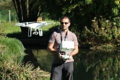 Télépilote drone